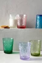 Anthropologie Fleur-De-Lys Juice Glass