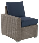 Threshold Heatherstone Wicker Patio Sectional Right Arm Chair