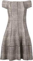 Talbot Runhof Mowgli dress - women - Cotton/Polyester/Acetate/Polyacrylic - 34