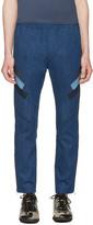 Neil Barrett Indigo Modernist Biker Jeans