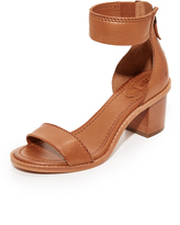 Frye Brielle Back Zip City Sandals