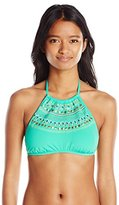 Bikini Lab Women's All Bright Long High Neck Top