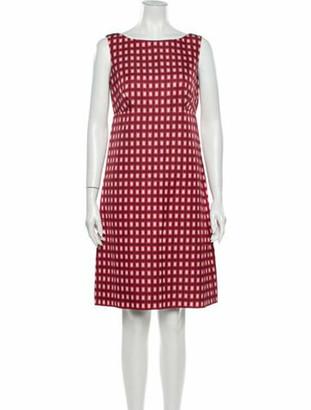 Prada Wool Knee-Length Dress Wool