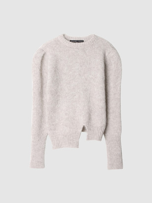 ANDERSSON BELL Alpaca Puff Sleeve Sweater