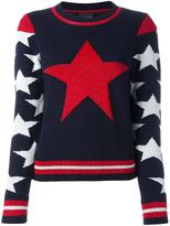 Just Cavalli star intarsia jumper - women - Cotton/Polyamide/Polyester/Viscose - S