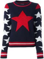 Just Cavalli star intarsia jumper - women - Cotton/Polyamide/Polyester/Viscose - XS