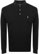 Ralph Lauren Long Sleeved Polo T Shirt Black