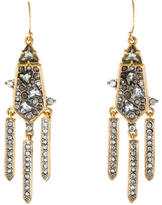 Alexis Bittar Crystal Triple Drop Earrings