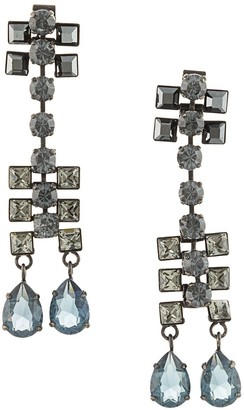 LANVIN Pre-Owned Dangling Crystal Earrings