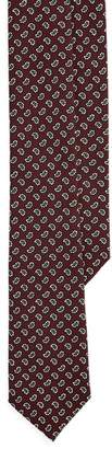 Ralph Lauren Pine Wool Challis Narrow Tie