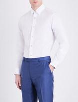 Paul Smith Artist Stripe-detail Soho-fit cotton shirt