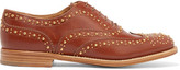 Church's The Burwood Met Studded Leather Brogues - Tan