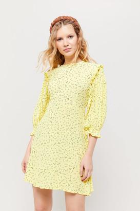 Faithfull The Brand Edwina Floral Crepe Mini Dress