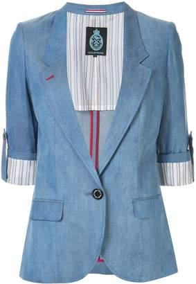 GUILD PRIME slim-fit short sleeve blazer