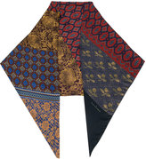 Pierre Louis Mascia Pierre-Louis Mascia - multi-print scarf - women - Silk - One Size