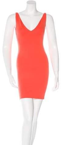 DSQUARED2 Knit Sleeveless Mini Dress
