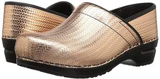 Sanita Signature Professional Cairo (Gold) Women's Clog Shoes