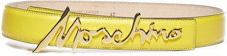 Moschino Logo Signature Belt