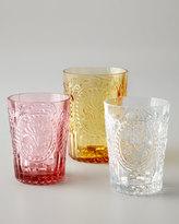 Horchow Fleur-de-Lis Juice Glasses, Set of 6