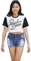 Me Women's Panic At The Disco Crop T-shirt