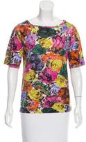 Dries Van Noten Printed Short Sleeve T-Shirt