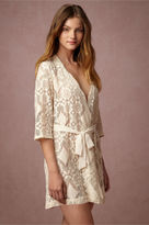 BHLDN Mosaic Lace Robe