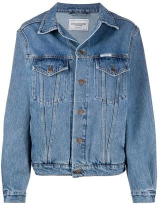 Forte Dei Marmi Couture Boxy Fit Denim Jacket