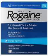 Rogaine Men's Extra Strength Topical Solution Hair Regrowth Treatment 3 pk