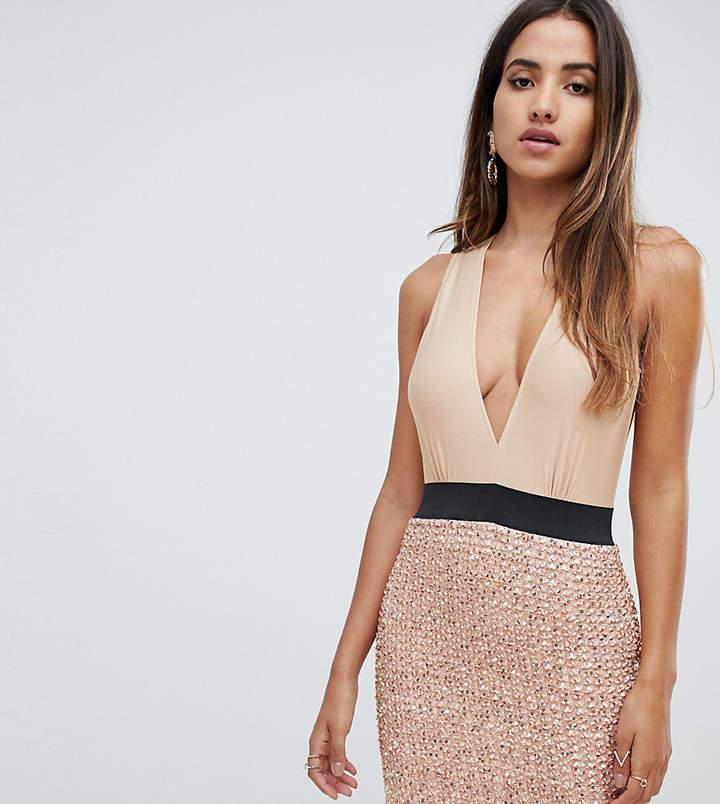 f0bbf7e4342c Rose Gold Sequin Skirt - ShopStyle UK