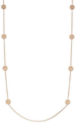 Roberto Coin 18K Rose Gold, Diamond & Ruby Necklace