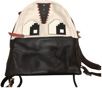 Les Petits Joueurs Multicolour Leather Backpacks
