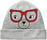 Joe Fresh Toddler Girls' Knit Hat, Light Grey Mix (Size 4-5)