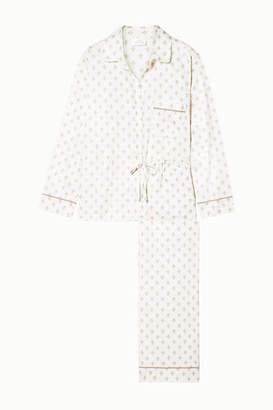 Off-White Pour Les Femmes - Printed Cotton-sateen Pajama Set