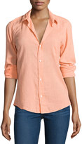 Frank And Eileen Long-Sleeve Barry Cotton Shirt, Cantaloupe