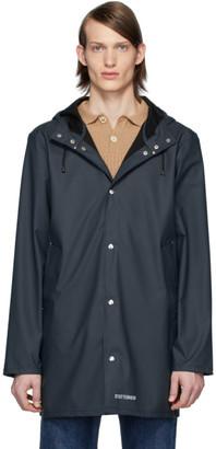 Stutterheim Navy Stockholm Lightweight Raincoat