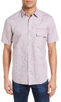 Maker & Company Men's Linen & Cotton Sport Shirt