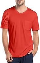 Hanro Night & Day Short Sleeve V-Neck Shirt