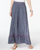 INC International Concepts Crocheted Maxi Skirt, Only at Macy's