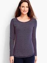Talbots Long-Sleeve Tee - Stripes