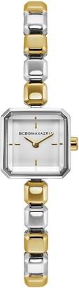 BCBGMAXAZRIA Women's Two-Tone Contemporary Watch