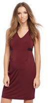 Motherhood Keyhole Detail Maternity Dress