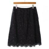 Lanvin Grey Wool Skirts