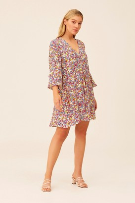 The Fifth FEARLESS LONG SLEEVE DRESS Wild Floral