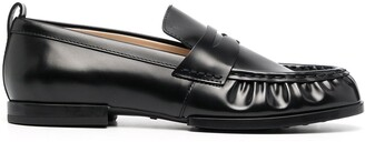 Tod's Ruched Low-Top Loafers