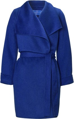 Winser London Lauren Short Wrap Coat
