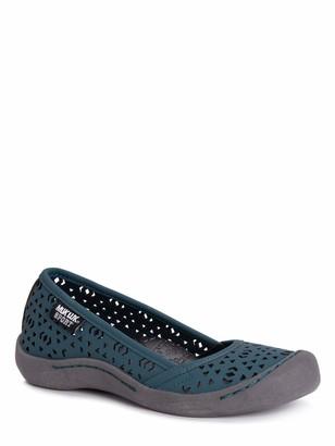 Muk Luks Women's Women's Sandy Sport Shoe-Turquoise Sandal