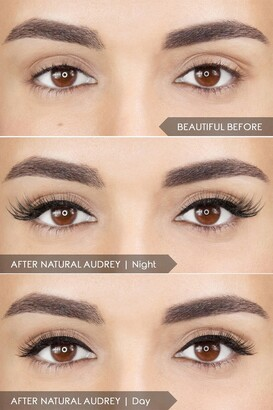 Mirenesse Magnomatic Magnetic Eyeliner w/ Reuseable Magnetic Lashes Day & Night Kit - Natural Audrey