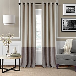 Elrene Home Fashions Braiden Color Block Blackout Curtain Panel, 52 x 84