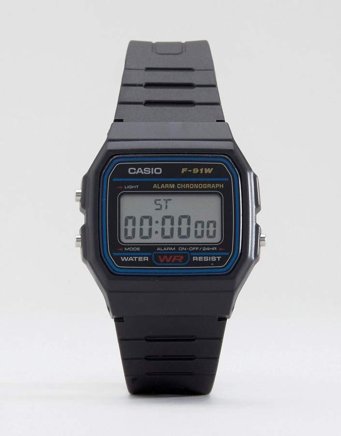 Casio F-91W-1XY classic digital watch
