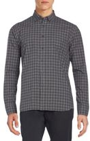 Billy Reid Rosedale Slim-Fit Plaid Cotton Sportshirt